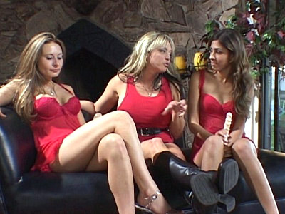 Rebecca Steel and Sahara Knite are both in the mood for each others pussy and with the help of blonde bombshell Sindee Coxx they shall explore new height in carnal pleasure Watch these lusty lesbian ladies go down on each other to eat and play with their eager beavers